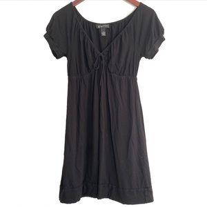 INC International Concepts Black Babydoll Dress